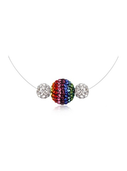 Frou Frou Collier Multicolore