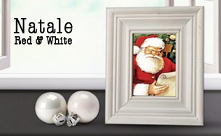 Natale Red&White