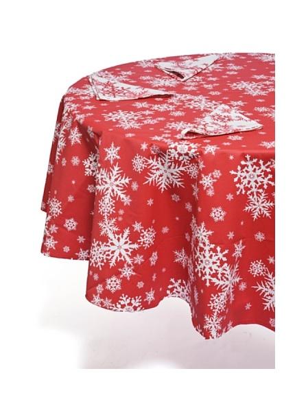 Mirabello Servizio Tavola Tessuto Fiocchi di Neve (rosso) - : Italia moda Sho...