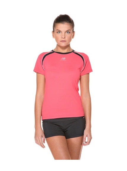 New Balance T-Shirt MC Women (Giallo)
