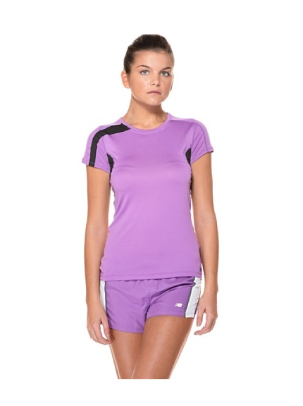 New Balance T-Shirt MC Running Wrt2103 Nbx Prism (Rosa)