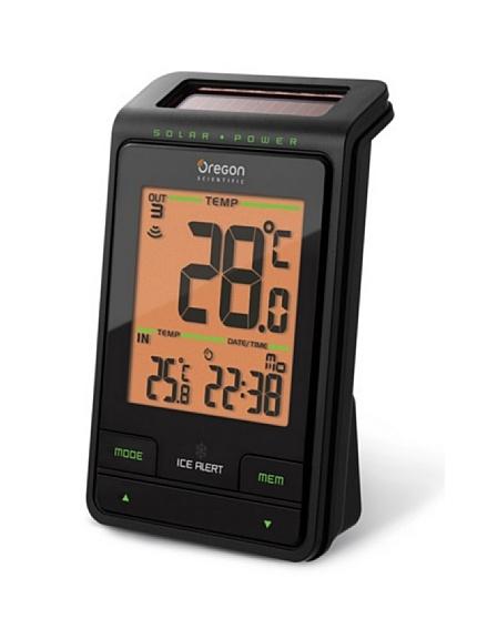 Pannello Solare Per Anemometro Oregon : Oregon scientific rmr radio sveglia carica solare