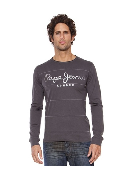 Pepe Jeans London T-Shirt Powers (Grigio scuro)