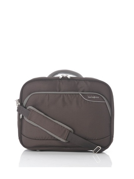 Samsonite cartella porta laptop monaco ict 16 marrone - Samsonite porta pc ...