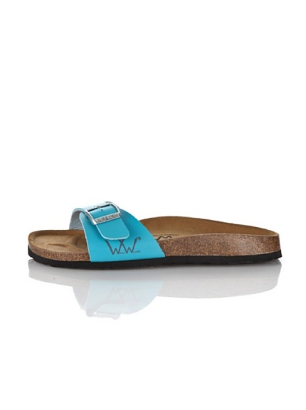 World Walker Licensed by Birkenstock Sandalo Lucy (Turchese)