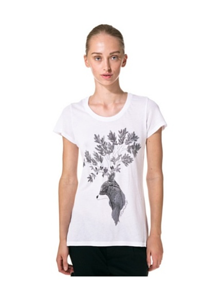 Element T-Shirt Forest (Bianco)