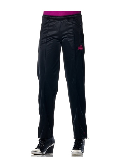 Lonsdale Ladies Trainings Pantalone (Nero)